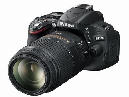 Details about Nikon D5100 Body AF-S DX 18-55mm + 55-300mm Twin Lens